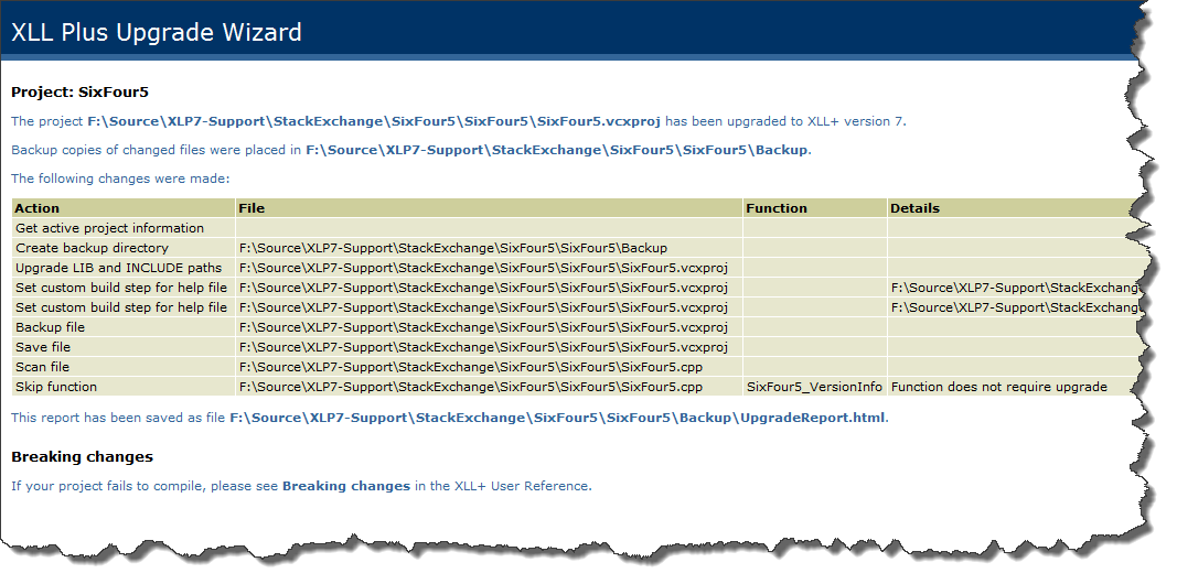 PRB: My project fails to build in a new version of Visual Studio